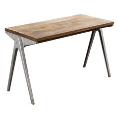 1950s Stacking School Table by James Leonard ESA, Side Table