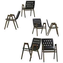 1950s Stadhalle Chairs by Rainer, Set of 6