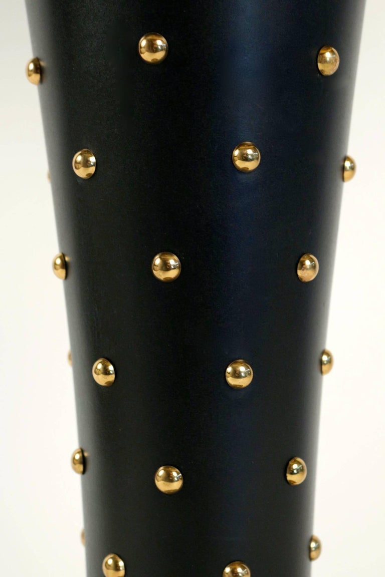 Lacquered 1950s Stilnovo Large Table Lamp For Sale