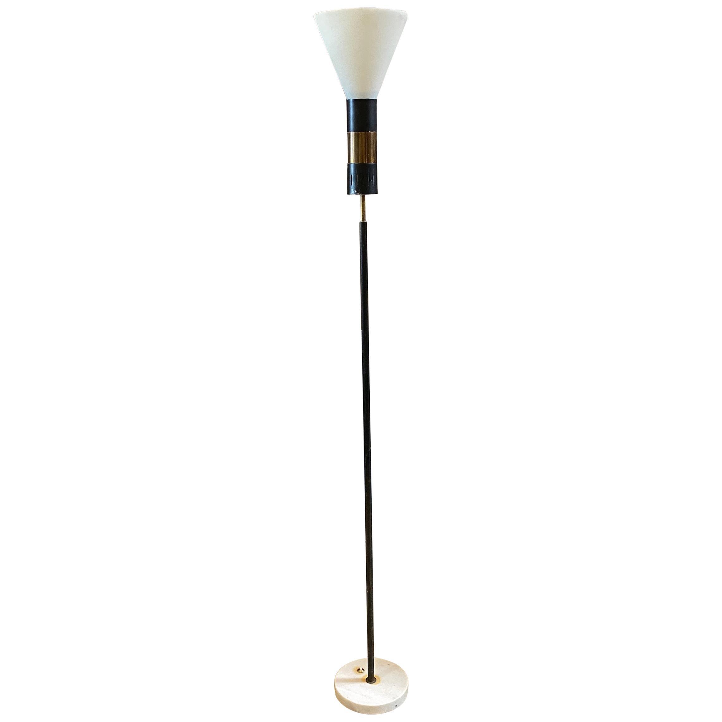 1950s Stilnovo Mid-Century Modern Floor Lamp