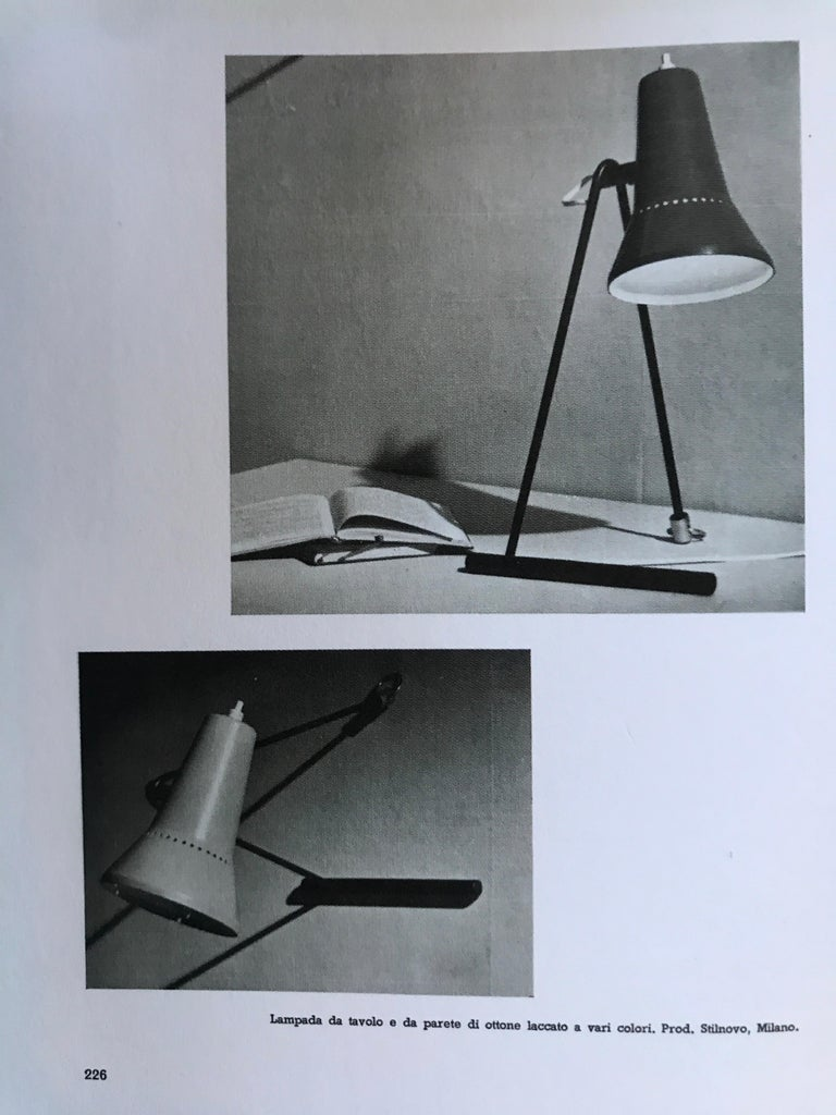 Mid-Century Modern 1950s Stilnovo Wall or Table Lamp For Sale