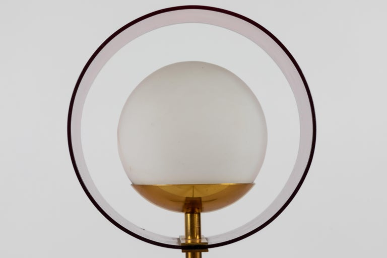 1950s Stilux Milano 'Saturno' Table Lamp For Sale 2