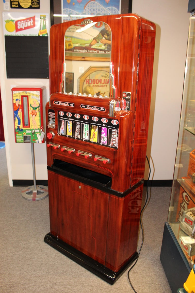 1950s Stoner Univendor Theater Candy Eight Pull Dispenser Vending Machine For Sale 3