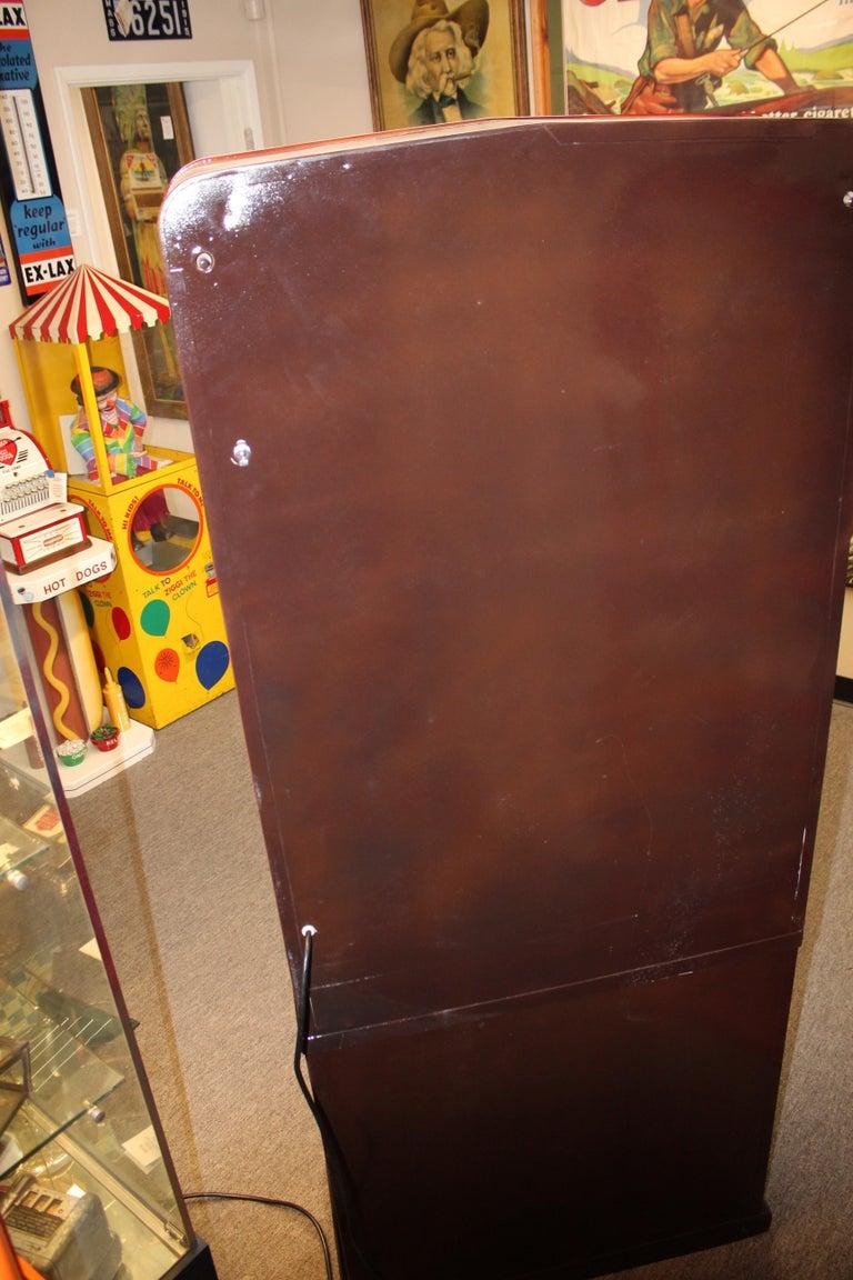 1950s Stoner Univendor Theater Candy Eight Pull Dispenser Vending Machine For Sale 5