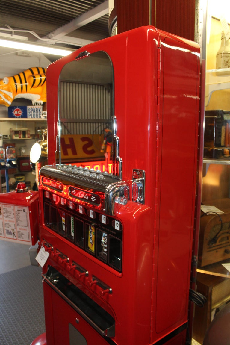 1950s Stoner Univendor Theater Candy Eight Pull Dispenser