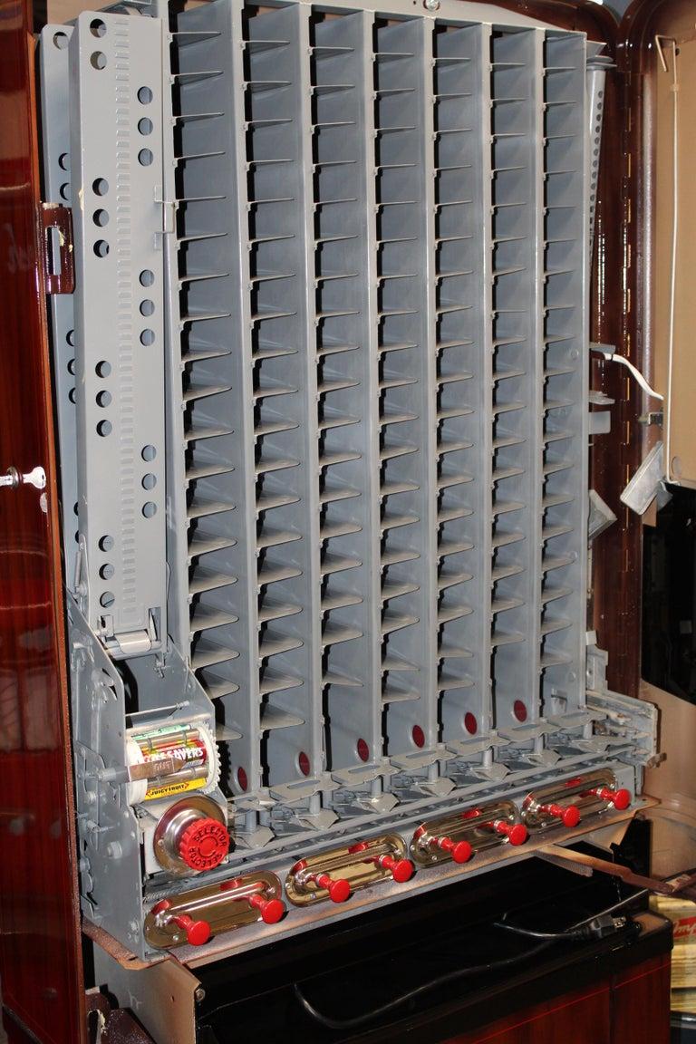 Mid-20th Century 1950s Stoner Univendor Theater Candy Eight Pull Dispenser Vending Machine For Sale