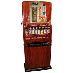 1950s Stoner Univendor Theater Candy Eight Pull Dispenser Vending Machine