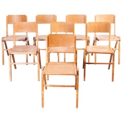 1950s Stunning Vintage Casala Dining Chairs, Set Of Eight