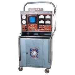 1950s Sun Engine Diagostic Testing Machine, Machanics Cabinet