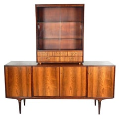 1950s Svante Skogh for Seffle of Sweden Buffet Credenza