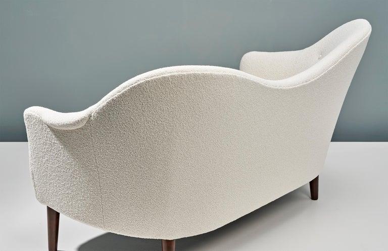 1950s Swedish Boucle Samspel Sofa by Carl Malmsten For Sale 3