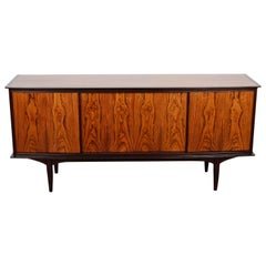 1950s Swedish Mid-Century Modern Rosewood Low Sideboard