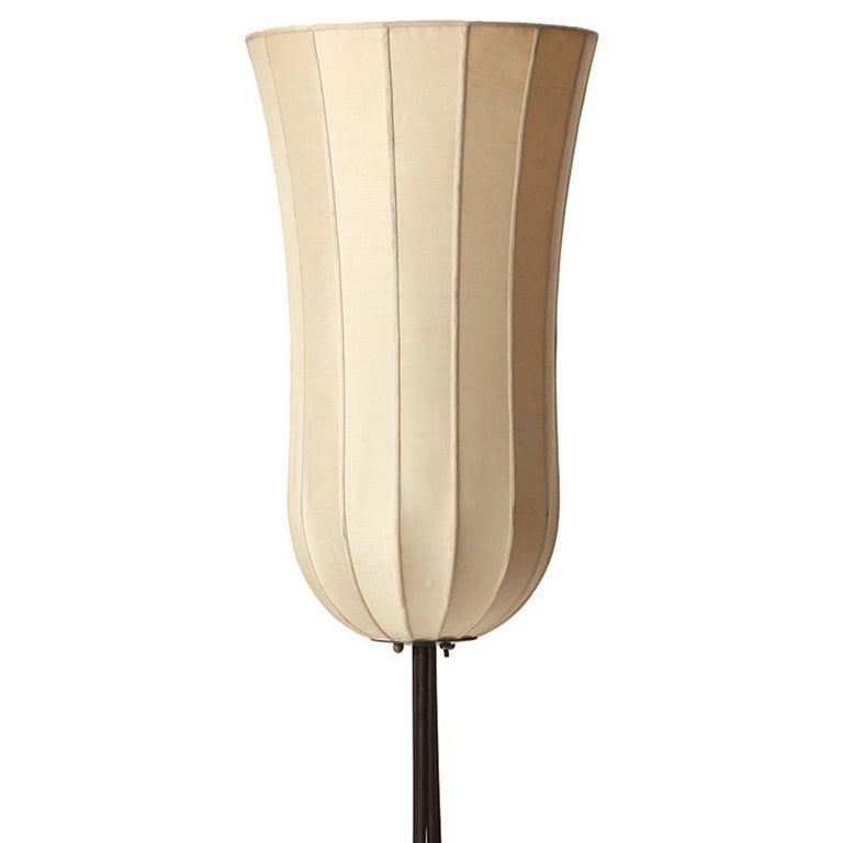 1950s Swedish Tulip Floor Lamp by Hans-Agne Jakobsson In Good Condition For Sale In Sagaponack, NY