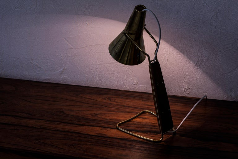 1950s Table Lamp by Hans Bergström for ASEA, Sweden For Sale 4