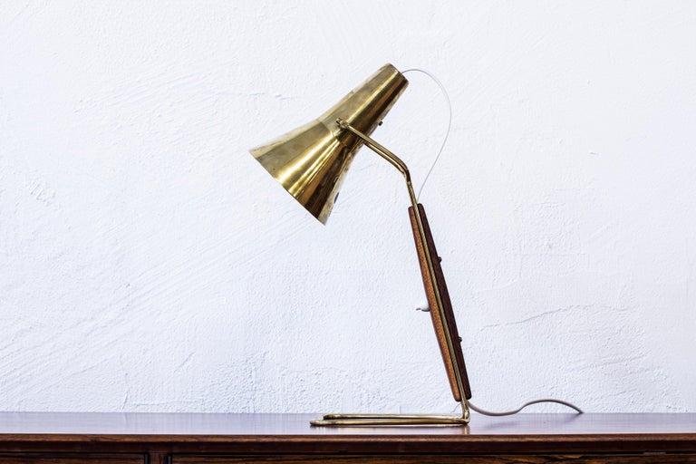 Scandinavian Modern 1950s Table Lamp by Hans Bergström for ASEA, Sweden For Sale