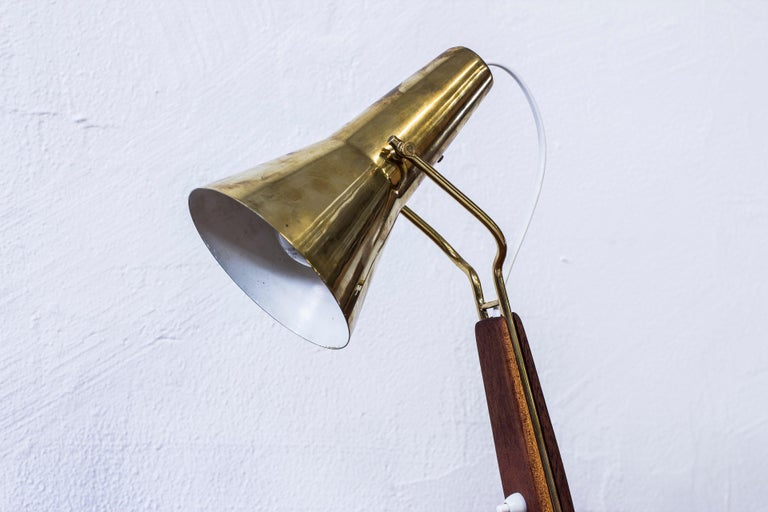Swedish 1950s Table Lamp by Hans Bergström for ASEA, Sweden For Sale