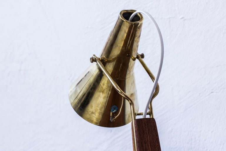1950s Table Lamp by Hans Bergström for ASEA, Sweden In Excellent Condition For Sale In Stockholm, SE