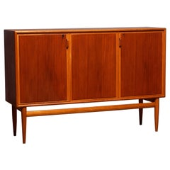 1950s, Teak and Oak Buffet Cabinet/ Credenzas by Bertil Fridhagen for Bodafors
