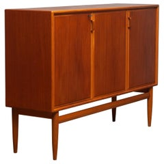 1950s, Teak and Oak Buffet Cabinet/ Credenzas by Bertil Fridhagen for Bodafors