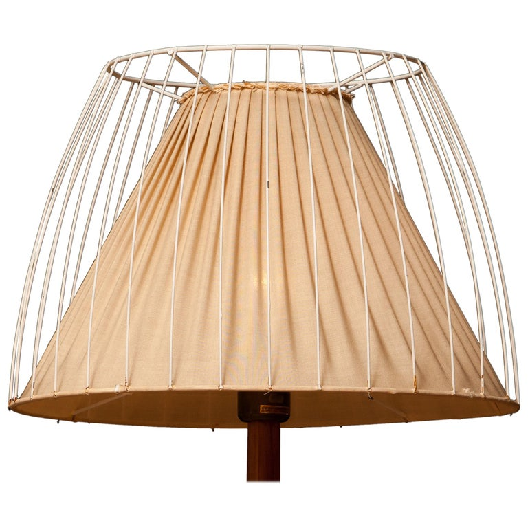 Mid-Century Modern 1950s, Teak Floor Lamp by Stilarmatur, Sweden