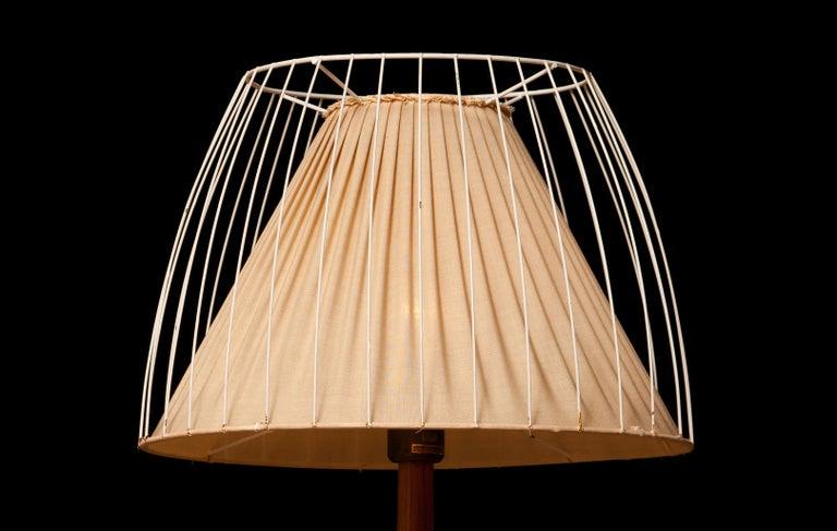 Swedish 1950s, Teak Floor Lamp by Stilarmatur, Sweden
