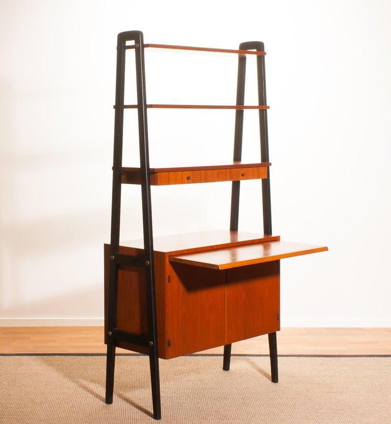 1950s, Teak Room Divider or Bookshelves, Sweden 3
