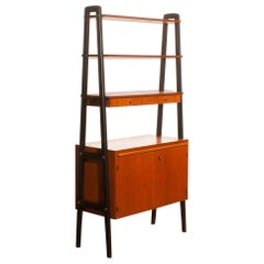 1950s, Teak Room Divider or Bookshelves, Sweden