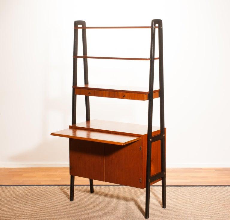 1950s, Teak Room Divider or Cabinet, Sweden 7