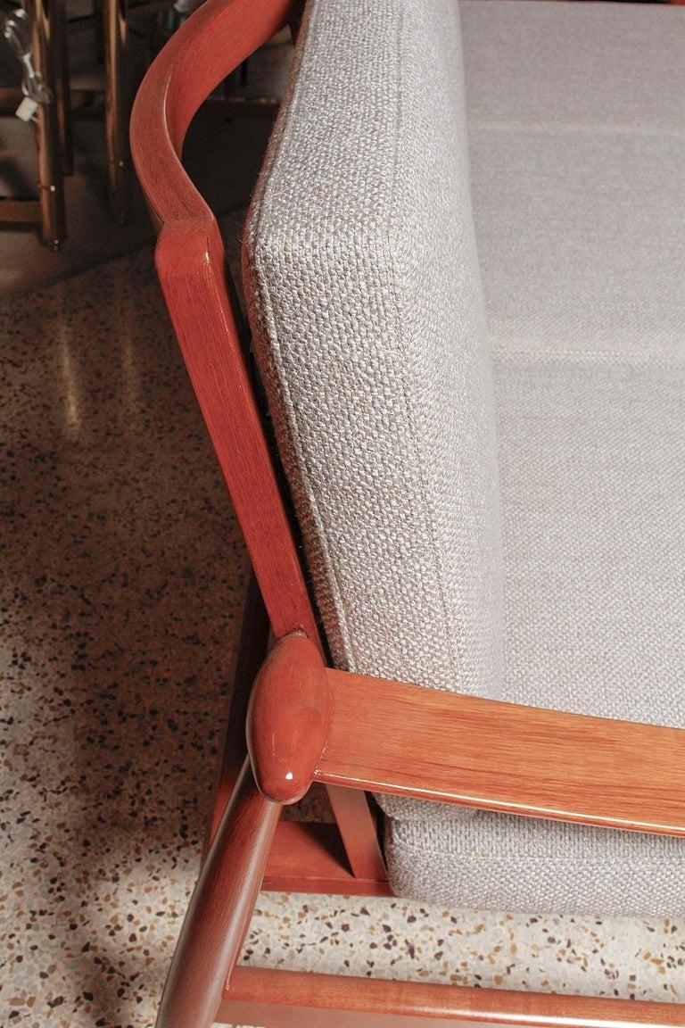 Upholstery 1950s Teak