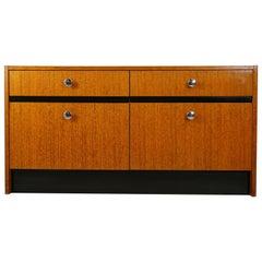 1950s Teak Wooden Low Cabinet