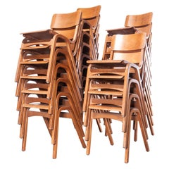 1950s Tecta Beech Dining Chairs in Beechwood, Set of Twenty Four