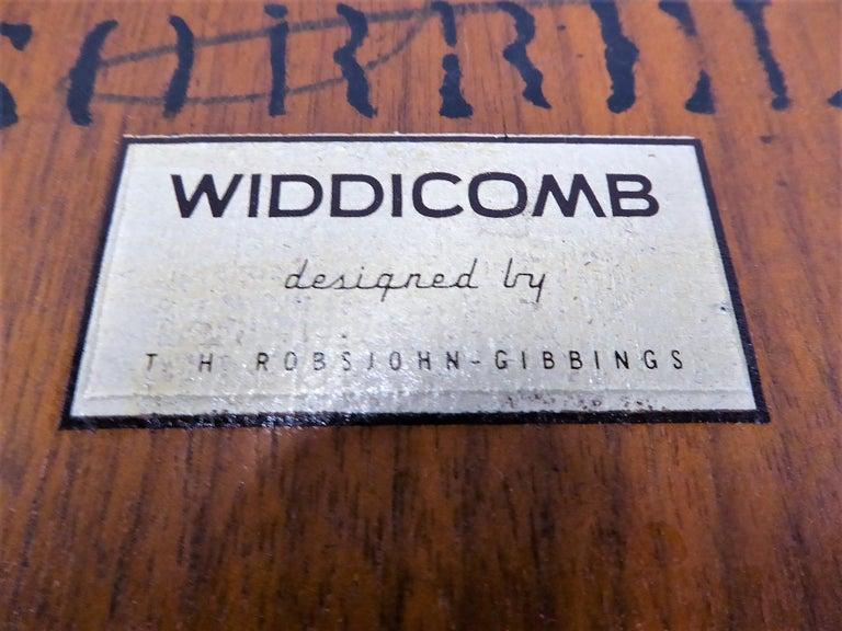 1950s Robsjohn-Gibbings Mid Century Modern Nesting Stacking Tables for Widdicomb For Sale 3