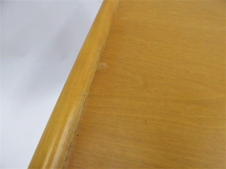 1950s Robsjohn-Gibbings Mid Century Modern Nesting Stacking Tables for Widdicomb For Sale 9