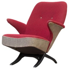 1950s Theo Ruth 'Penguin' Lounge Fauteuil for Artifort