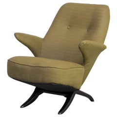 1950s Theo Ruth 'pinguin' Lounge Fauteuil for Artifort