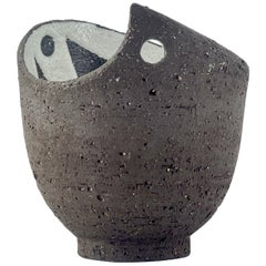 1950s Thomas Toft Danish Studio Pottery Petite Salt Cup Vase Mid-Century Modern