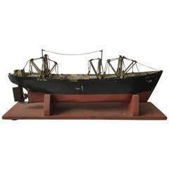 1950s Tin  Boat Model