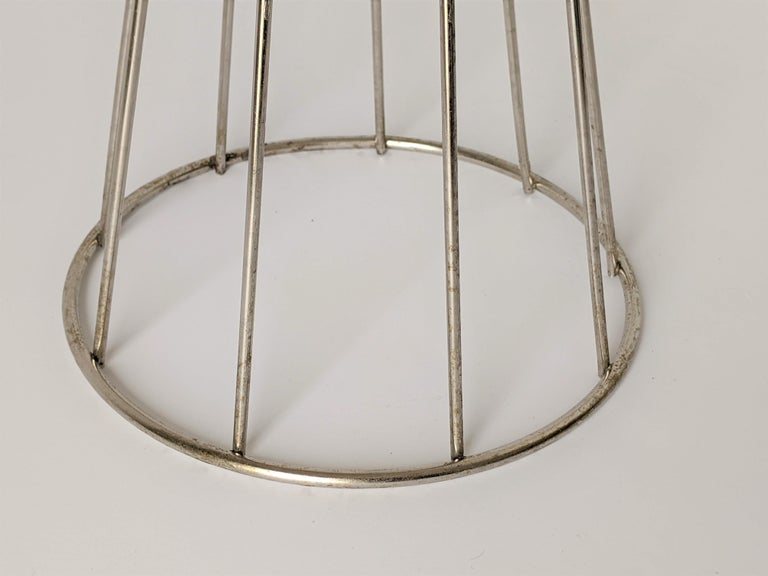 1950s Tony Paul Floor\Standing Wire Ashtray, USA For Sale 3