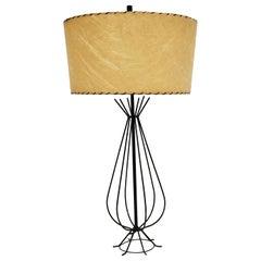 1950s Tony Paul Wire Table Lamp, USA