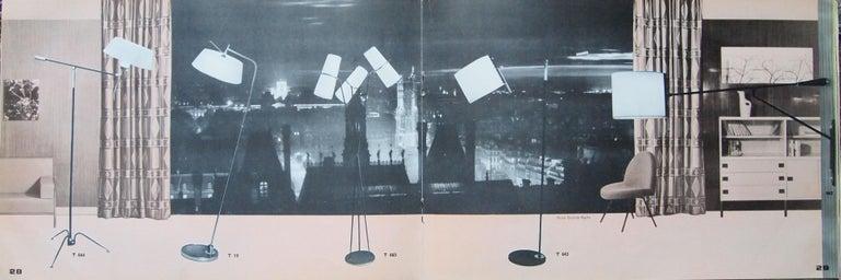 1950s Triple Lighting Floor Lamp by Maison Lunel For Sale 13