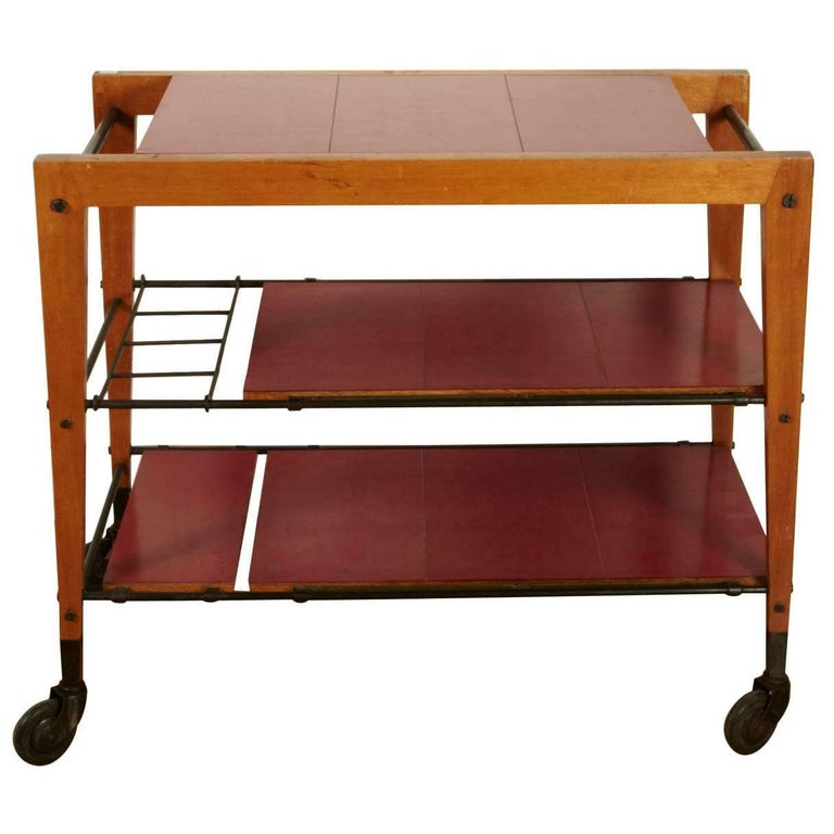 1950s Trolley Table by Maxime Old For Sale