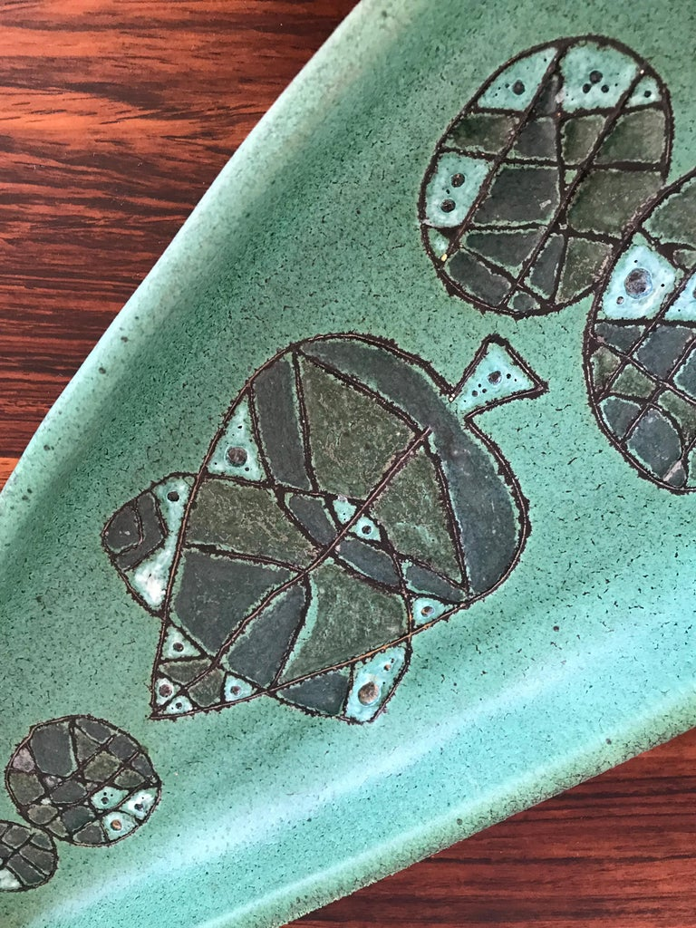 1950s Ugo Sassi Italian Ceramic Centrepiece for Ceramiche Faenza