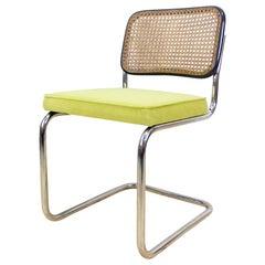 1950s Upholstered Marcel Breuer's B32 Cesca Cantilever Chair