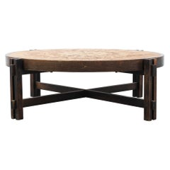 1950s Vallauris Coffee Table by Roger Capron