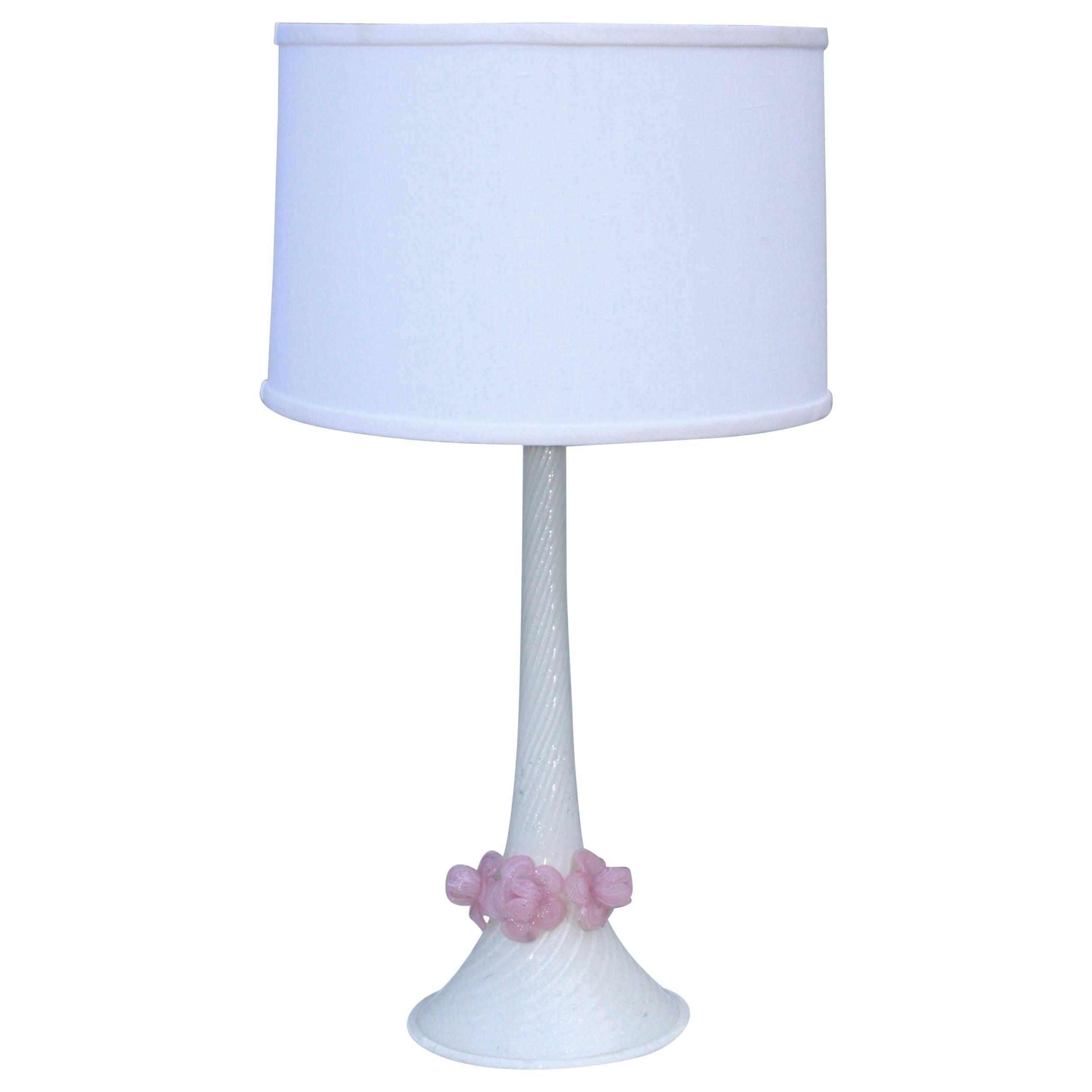 1950's Venetian Glass Table Lamp