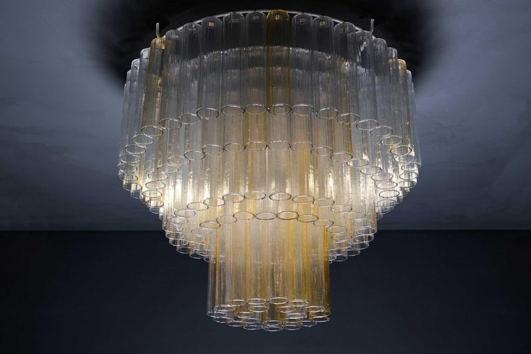 Large 4 tier Murano chandelier, Circa 1950 Italy.