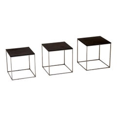 1950s Vintage Danish PK71 Nest of Tables by Poul Kjaerholm