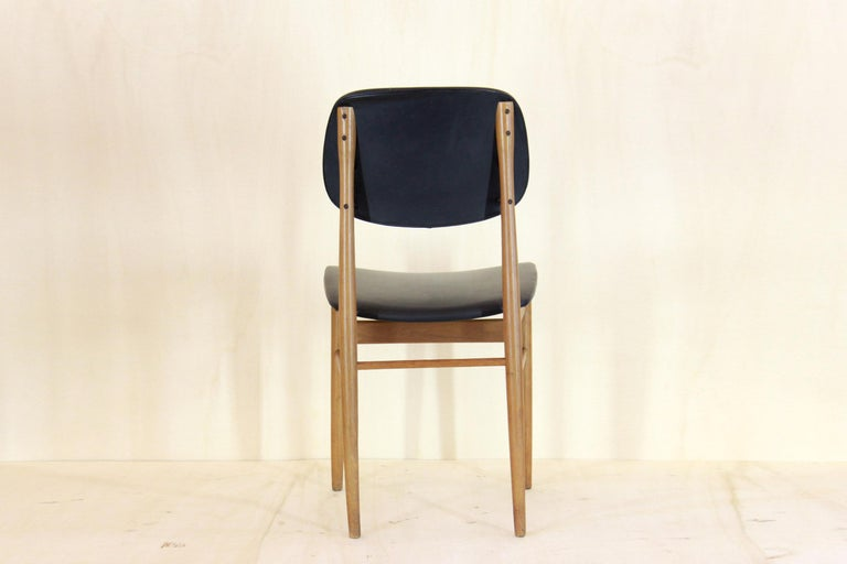 1950s Vintage Dining Chairs by Anonima Castelli, Set of Two In Good Condition For Sale In Ceglie Messapica, IT