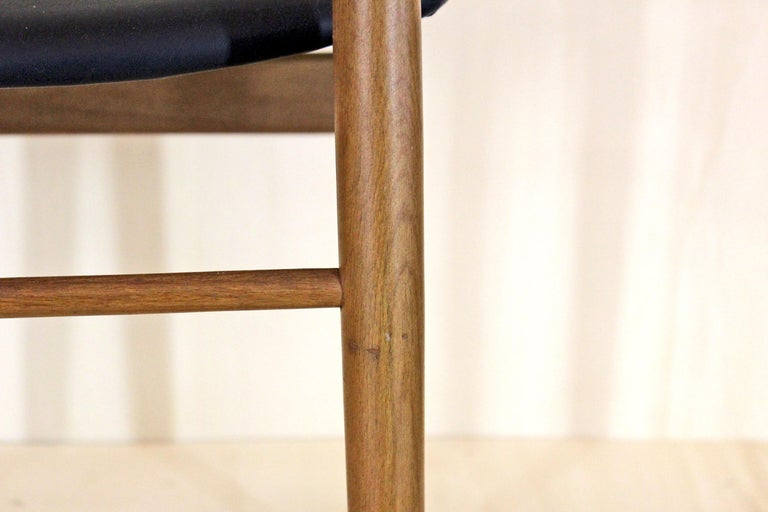 Mid-20th Century 1950s Vintage Dining Chairs by Anonima Castelli, Set of Two For Sale