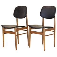 1950s Vintage Dining Chairs by Anonima Castelli, Set of Two